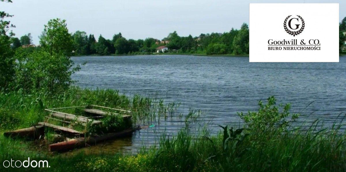 Działka budowlana nad jeziorem