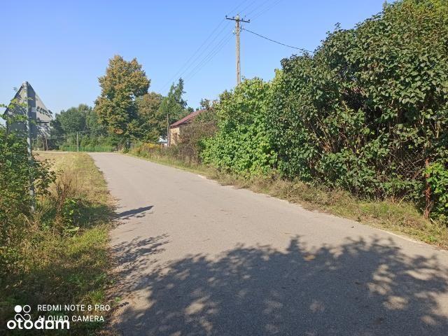Pięknie położona działka z siedliskiem pod Płoński