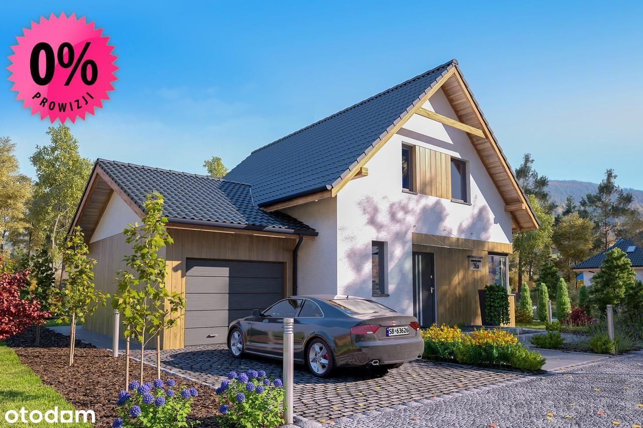 Nowe osiedle domów w Pszczynie