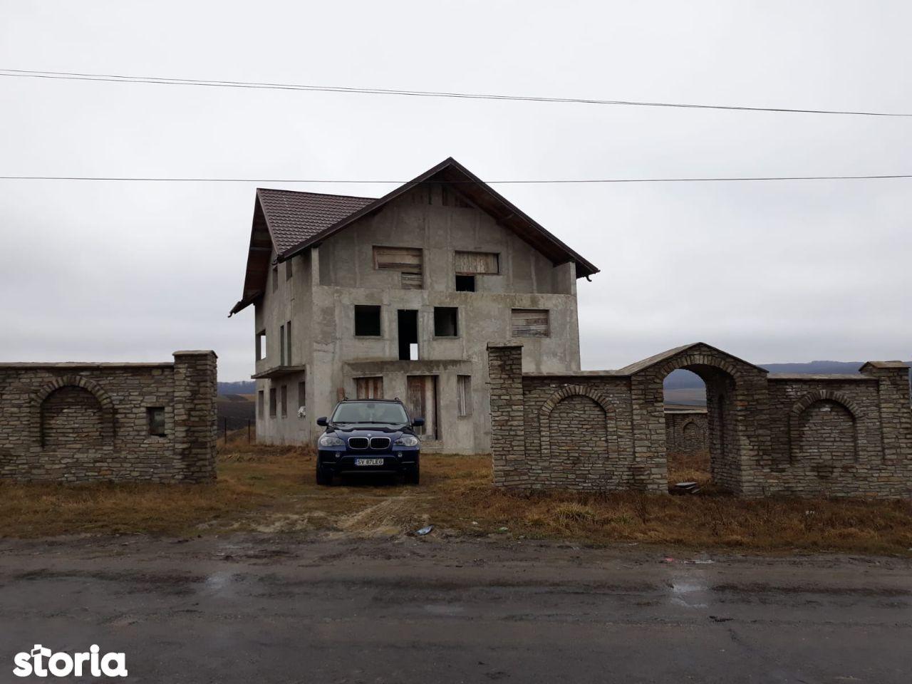 vila constructie noua Adancata