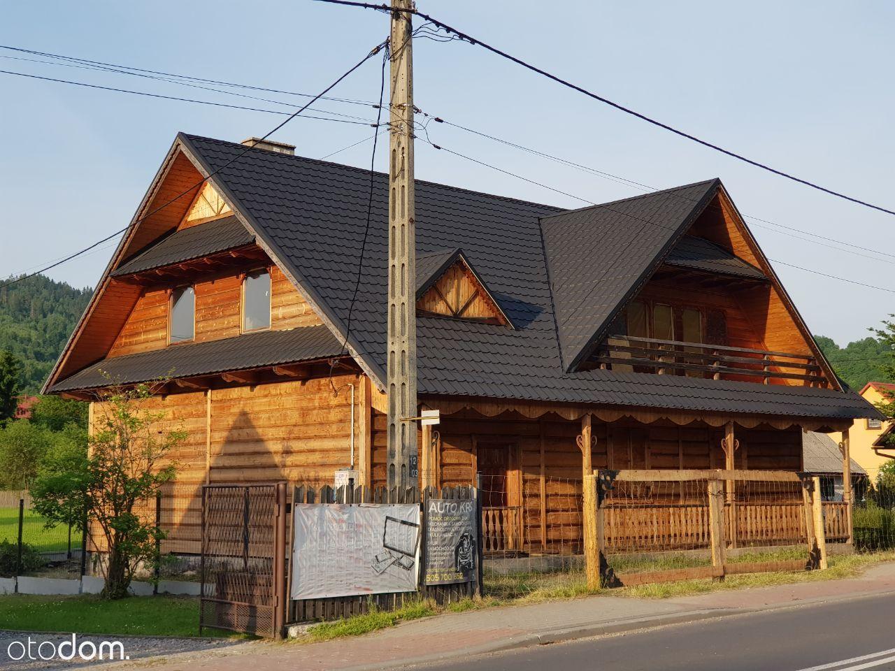 Dom mieszkalno-usługowy w Beskidzie Żywieckim