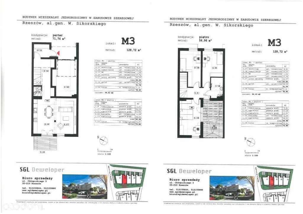 Dom w zabudowie szeregowej - M3 | budynek B