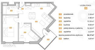 NOWA KIELECKA-trzypokojowe mieszkanie z balkonem.