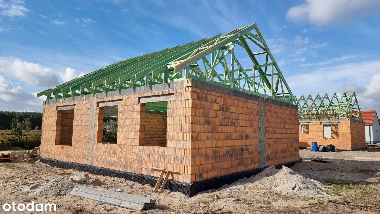 Nowy dom wolnostojący blisko lasu, wszystkie media