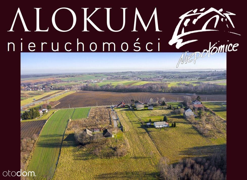 Piękna działka 15 minut od Krakowa