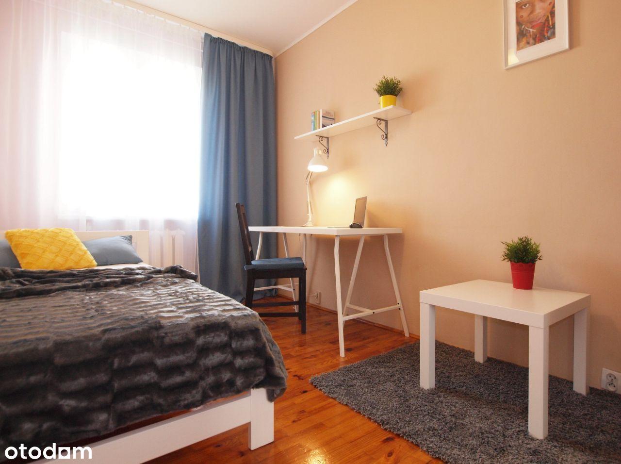 Przytulny pokój, tylko 3 pokoje, Gocław