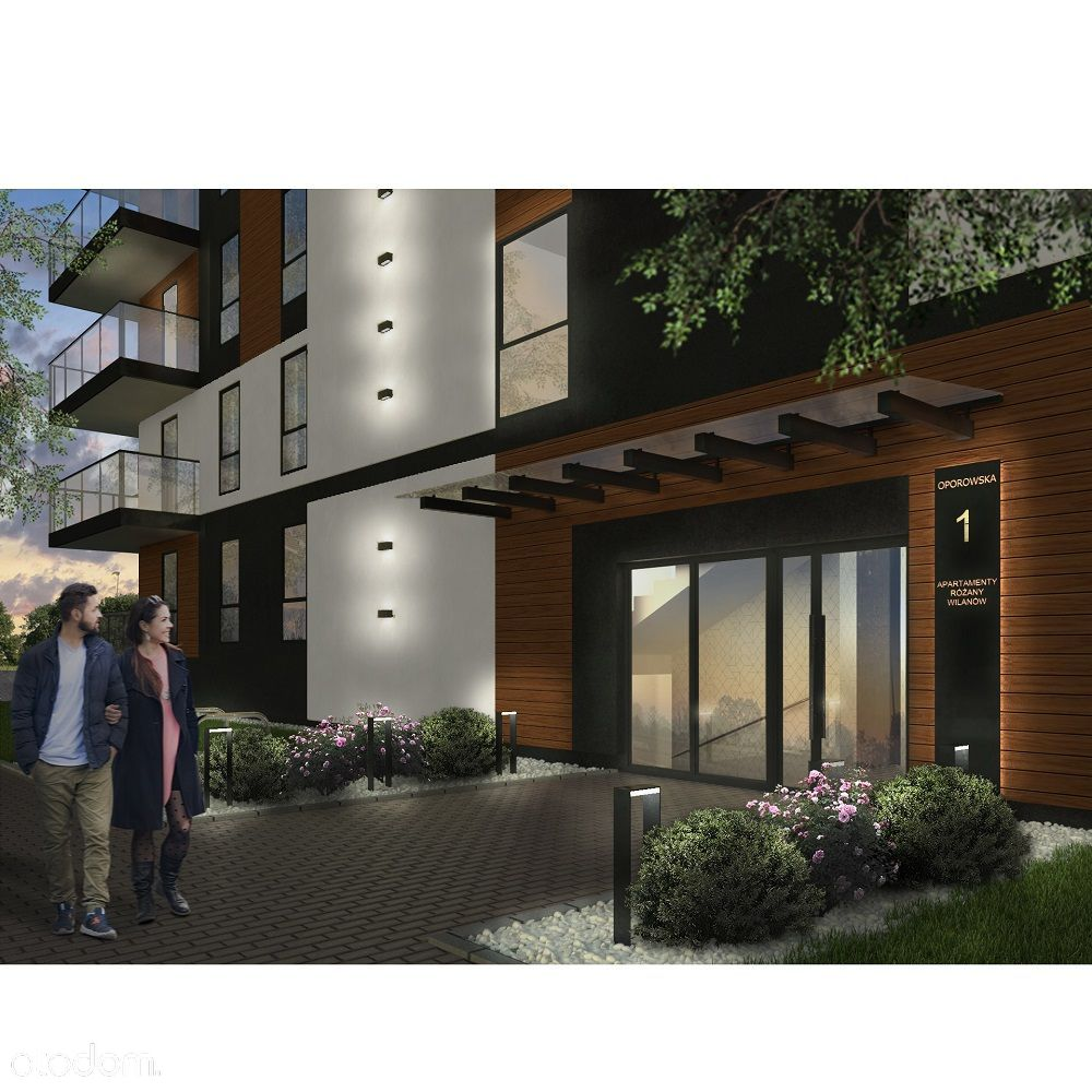 Mieszkanie w Inwestycji Różany Wilanów M35