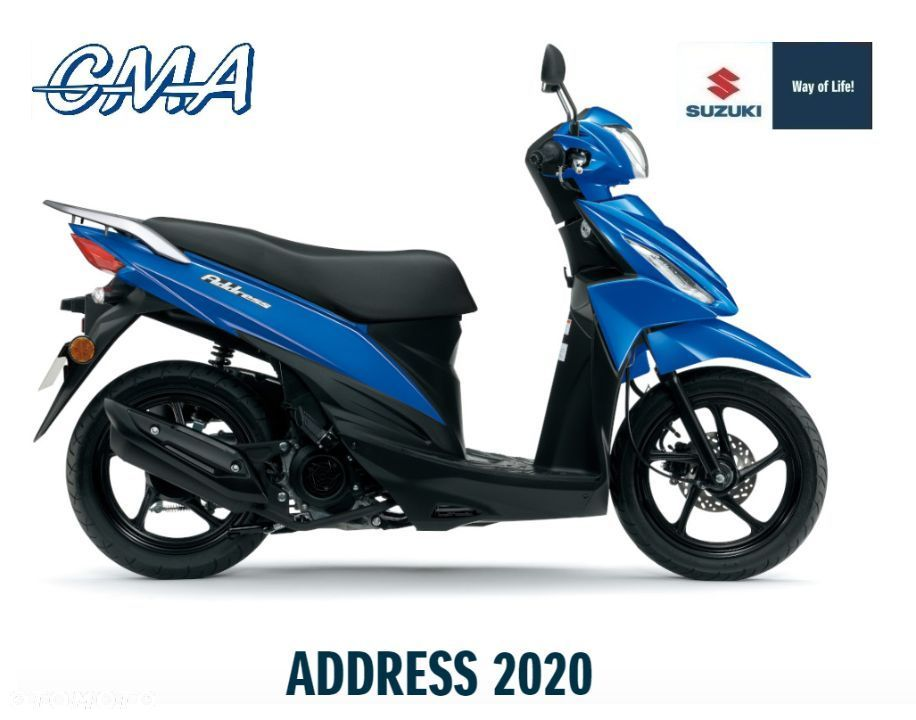 Suzuki Address Suzuki UK110 ADDRESS Nowy Salon Polska 2020 r - 1