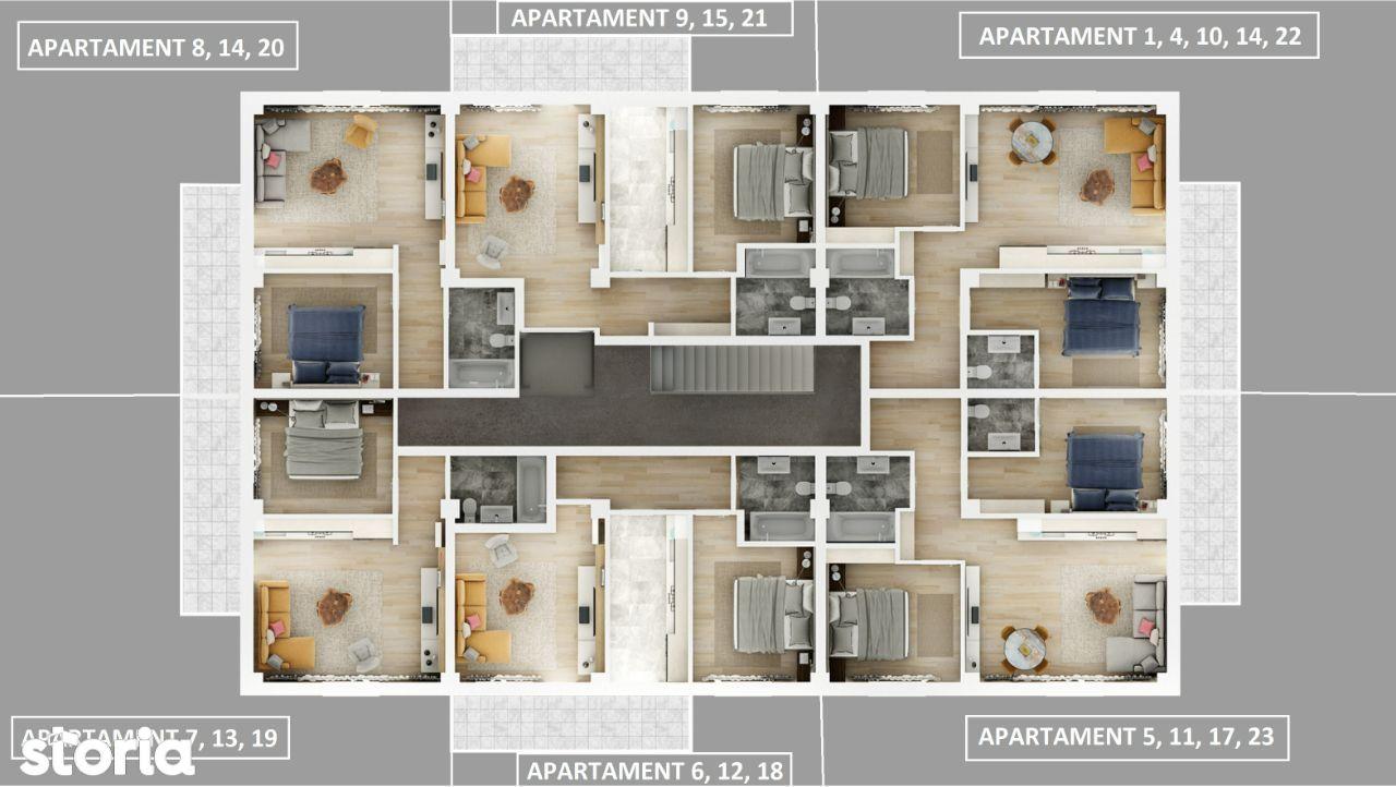 Apartamente 2 si 3 camere in Gavana | Dedeman - Strada Garlei 74