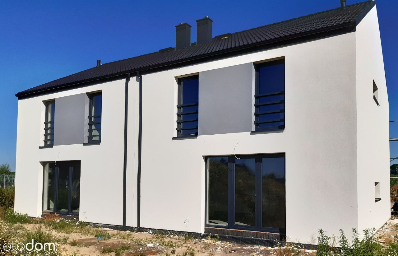 Dom w zabudowie bliźniaczej 124,96 m2 (2B)