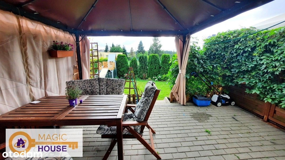 Mieszkanie dwupoziomowe jak dom, ogródek, garaż