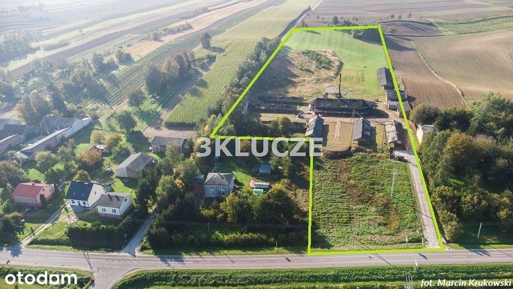 Działka 3 ha pod działalność, 30 km od Lublina