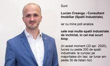 Dezvoltatori: Lucian Creanga - Consultant Spatii Industriale - Iasi, Iasi (localitate)