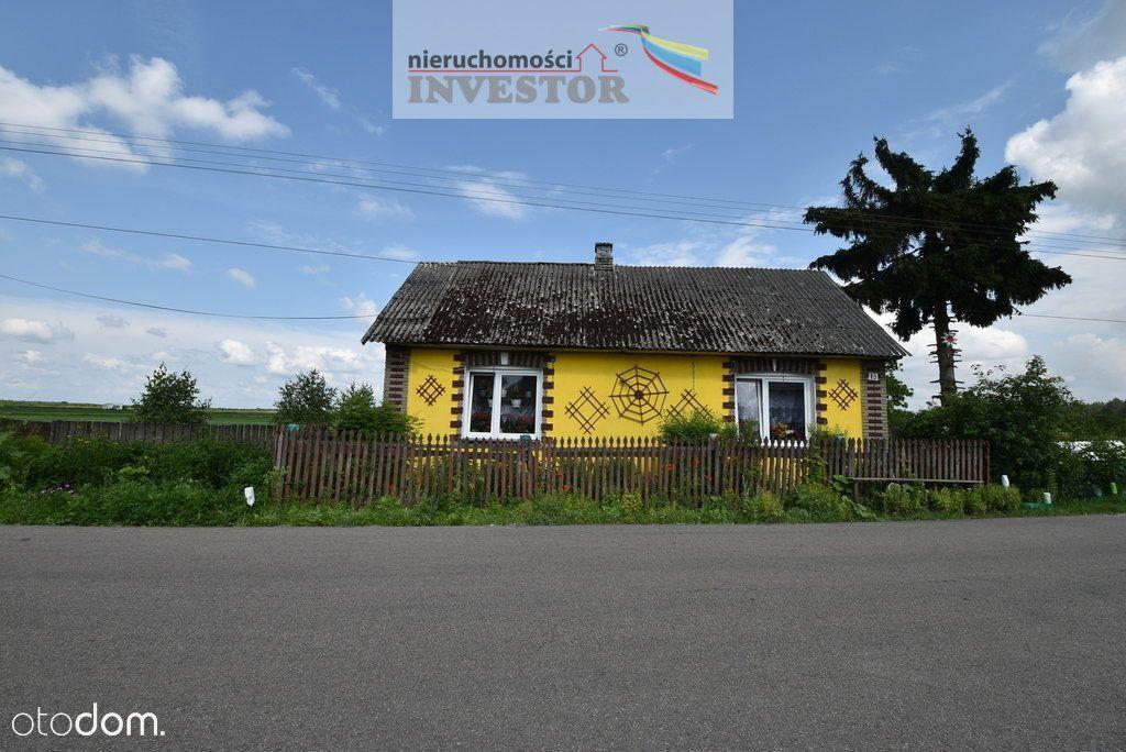 Dom z działką 20 km od Bałtowa