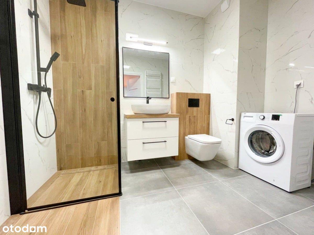 Nowe 3-pok mieszkanie + 2 lazienki.