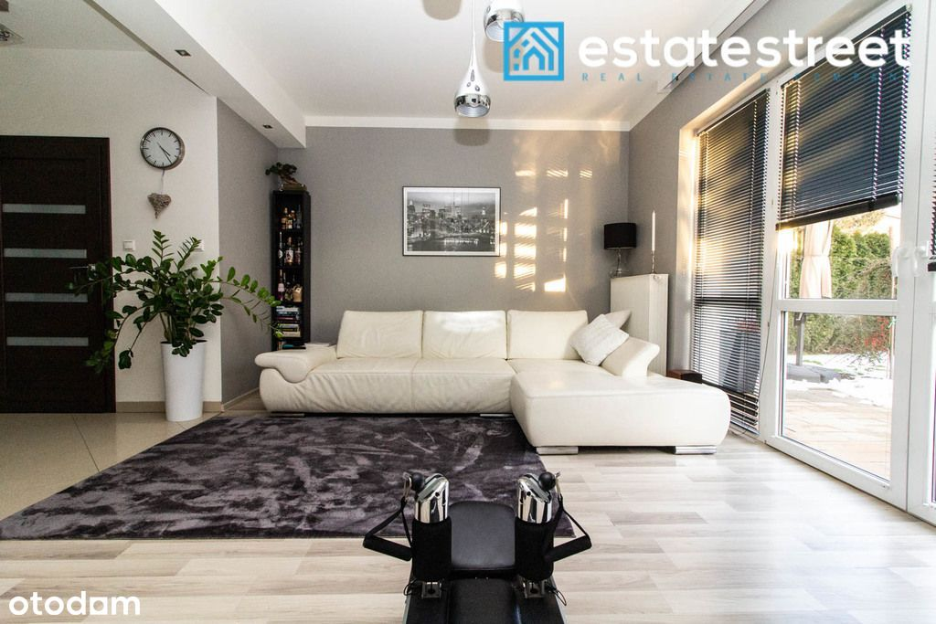 Skotniki nowoczesny dom szeregowy |128m2| 4-pok