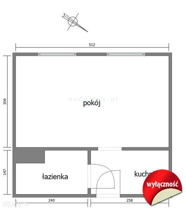 Mieszkanie, 24 m², Kraków