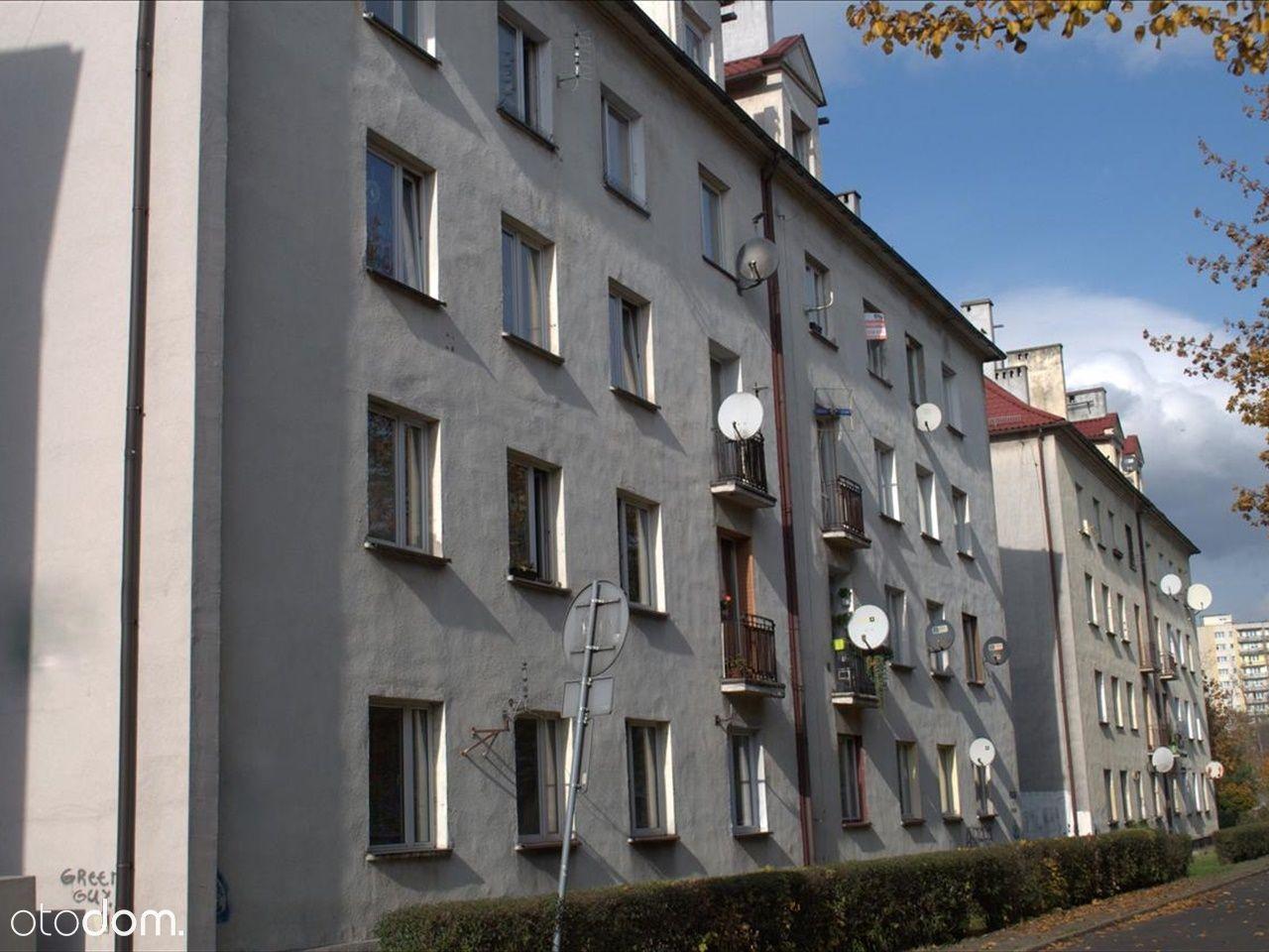 Dwupokojowe mieszkanie, 46.3m2, Katowice
