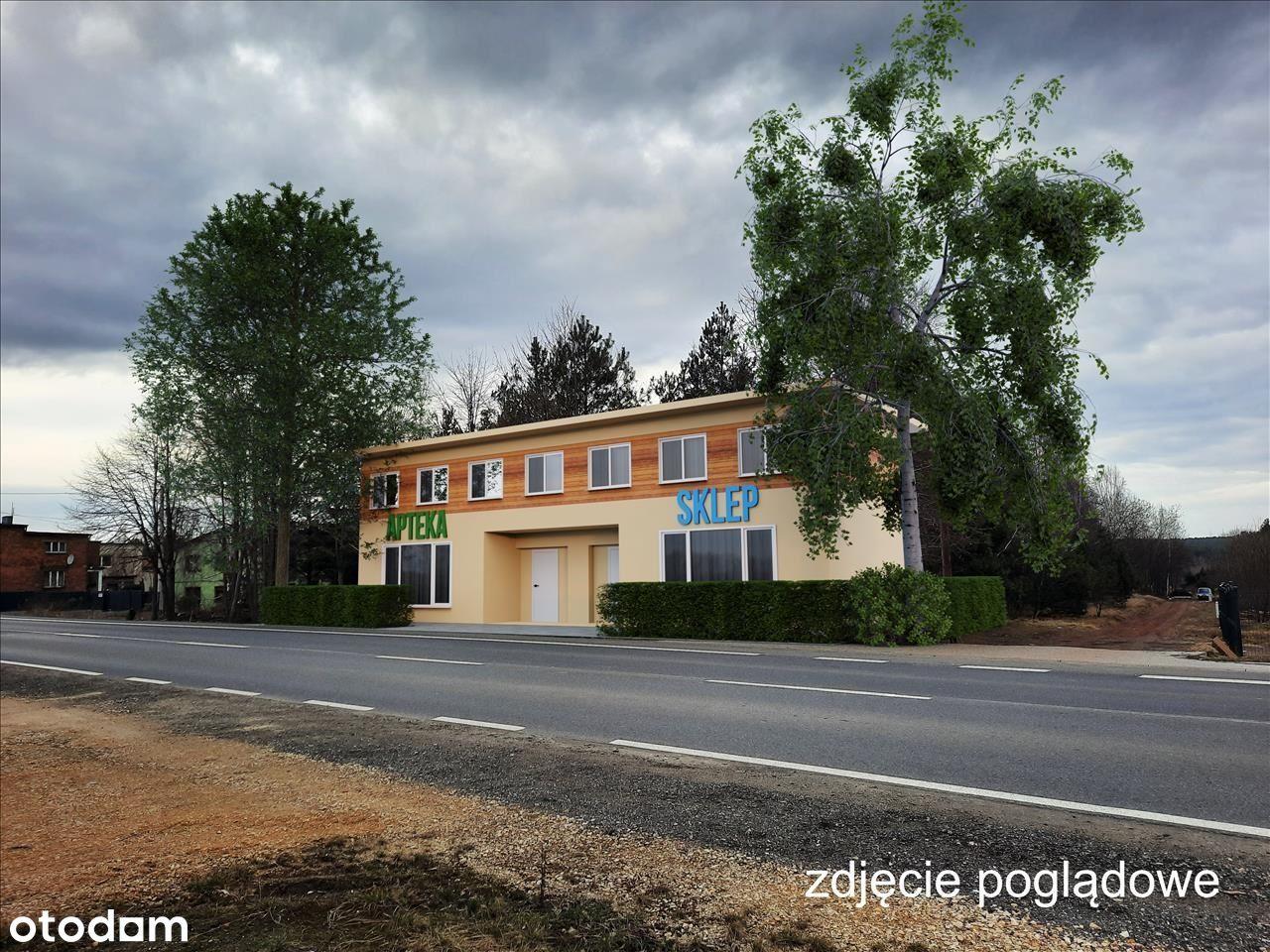 Działka pod usługę/handel 2100 m2, Jejkowice