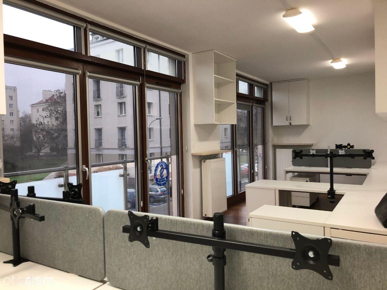 Lokal biurowy umeblowany na 8-10 osób na Sielcach