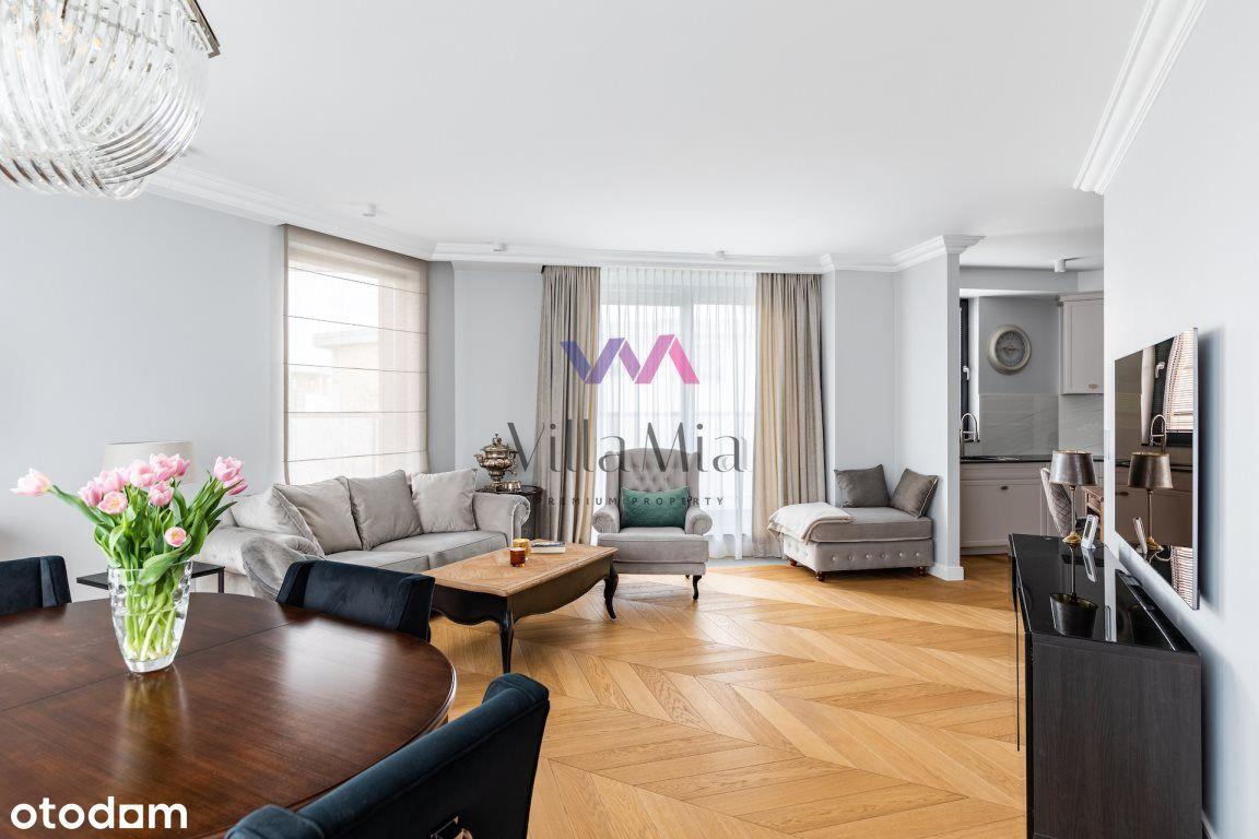 Elegancki, nowy apartament 136m2, Wilanów