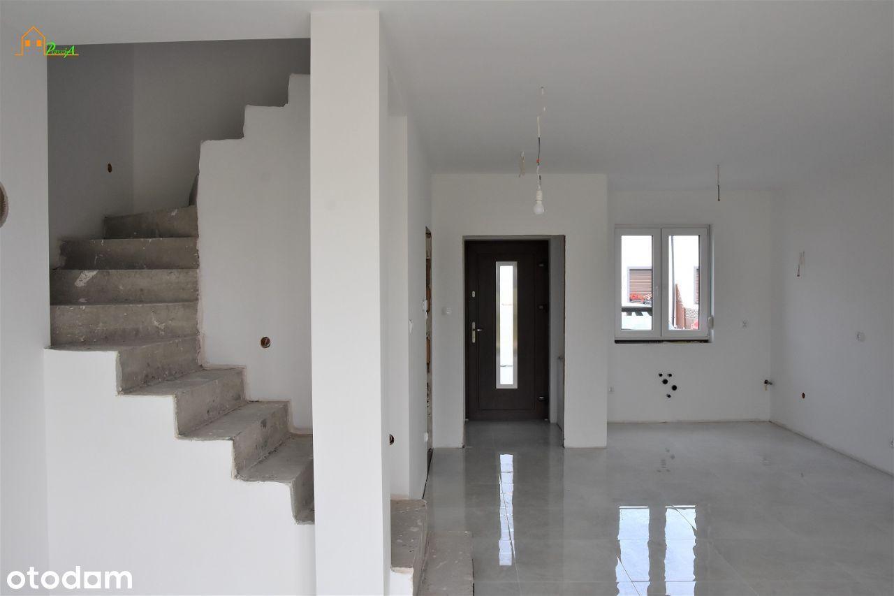 Nowy dom pow. 86,43 m2, ogródek. REZERWACJA.