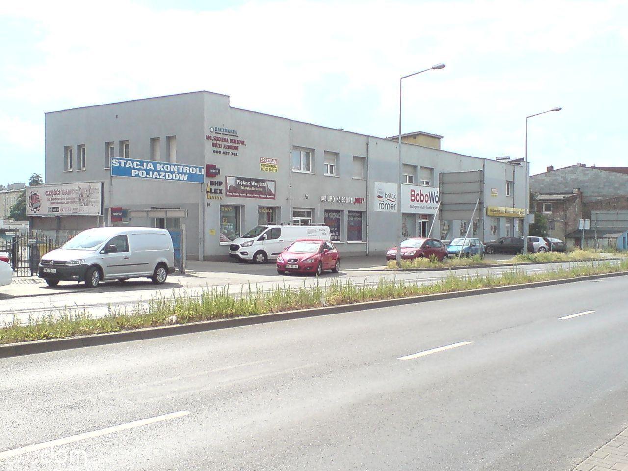 Budynek usługowo handlowy