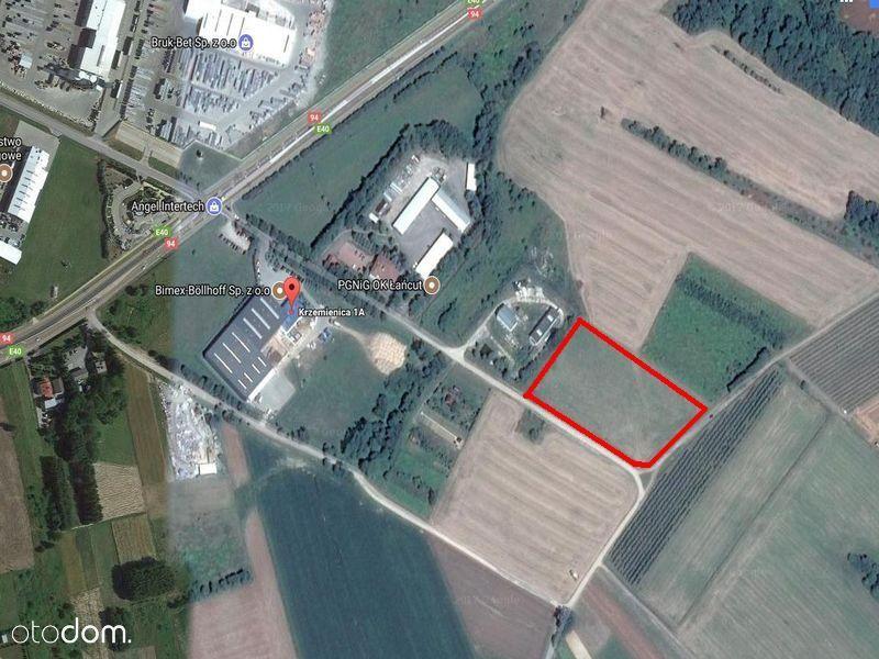KRZEMIENICA 1,04 hektara mieszkaniowo-usługowa