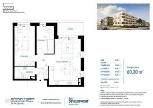 Mieszkanie 60,30m2 - 3 pok. Zgorzelec