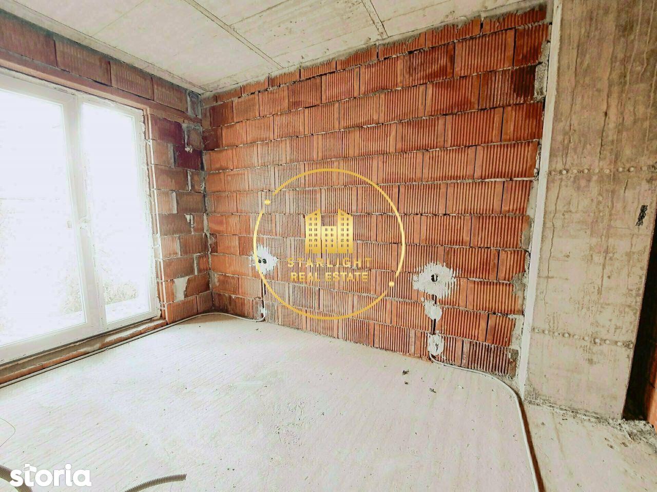 Apartament 2 camere, semifinisat pana la finalul anului