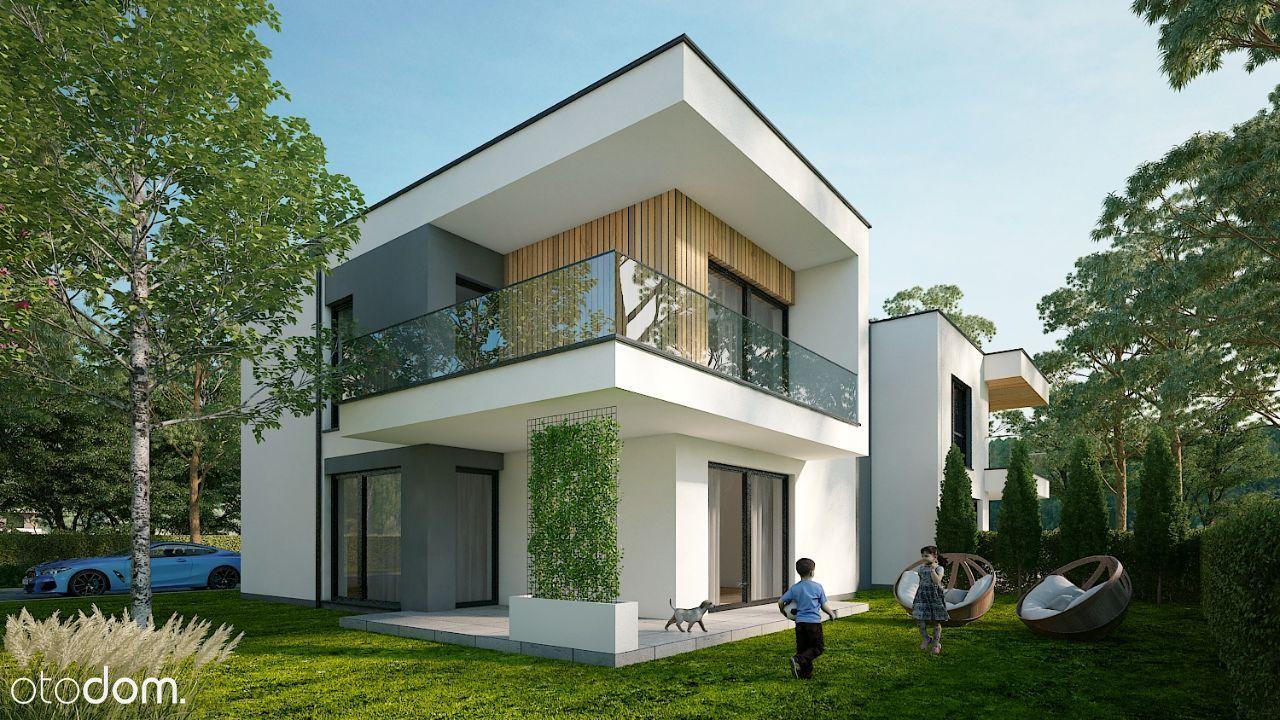 Nowe domy w zabudowie bliźniaczej Park Zakopiańska