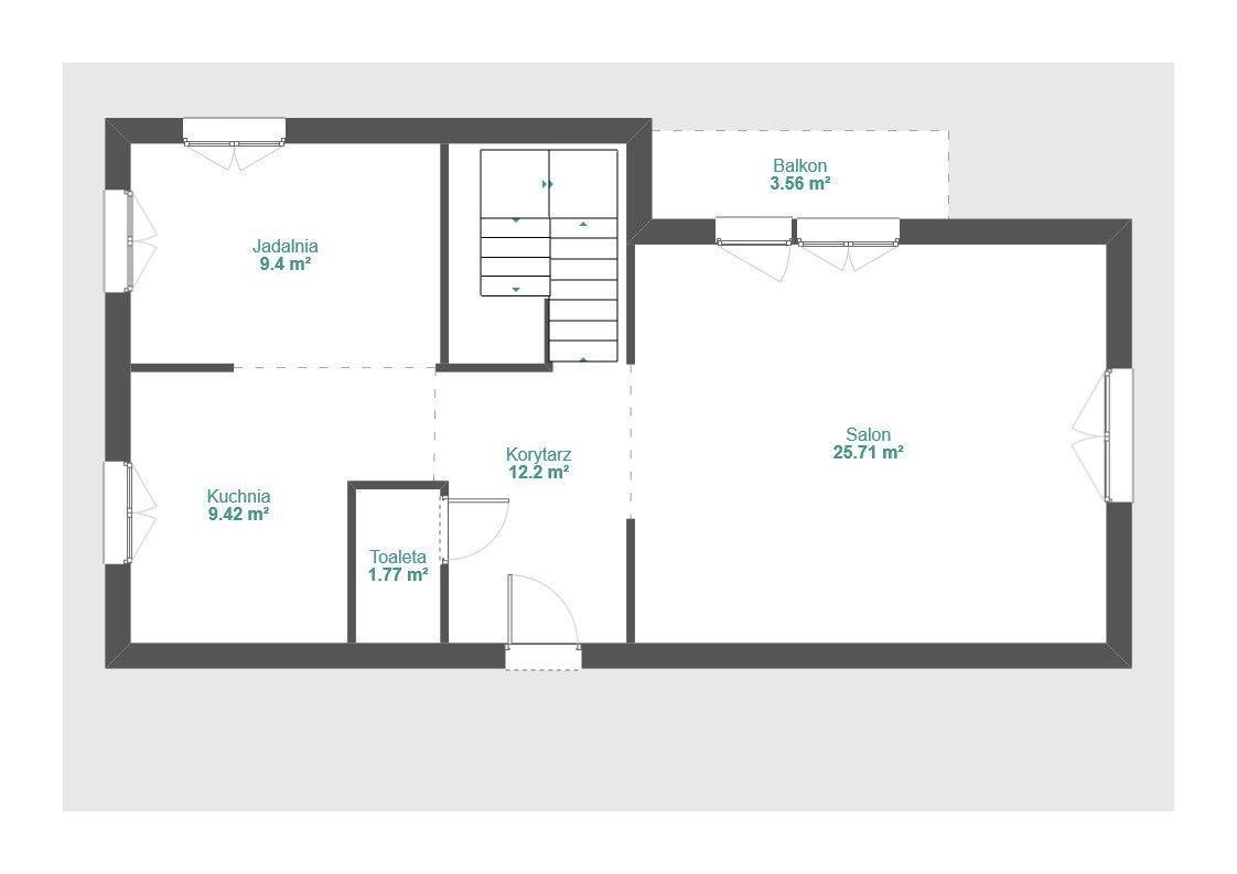 M6 z 2 balkonami - dla dużej rodziny - Retkinia