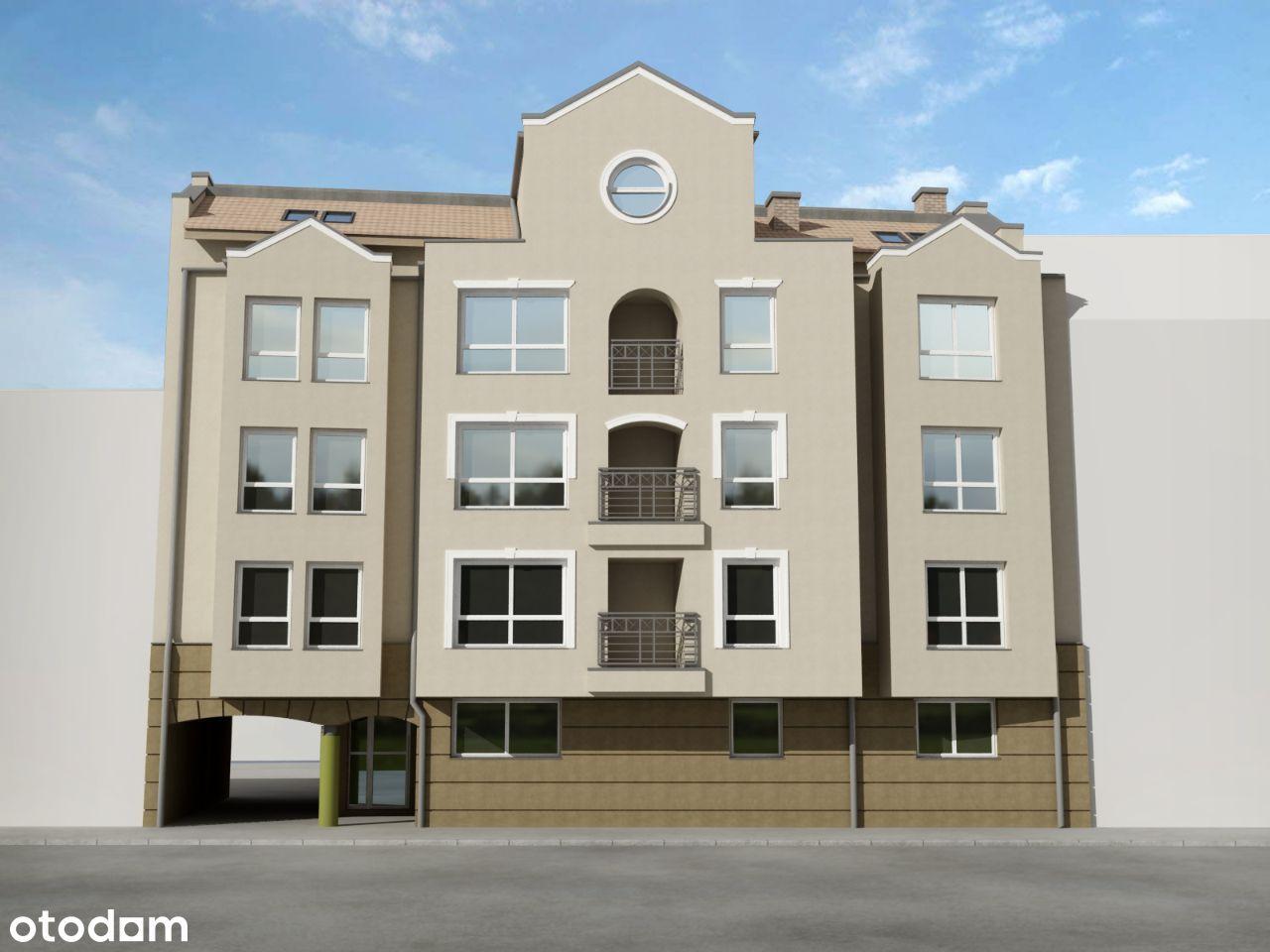 Mieszkanie dwupokojowe na I piętrze