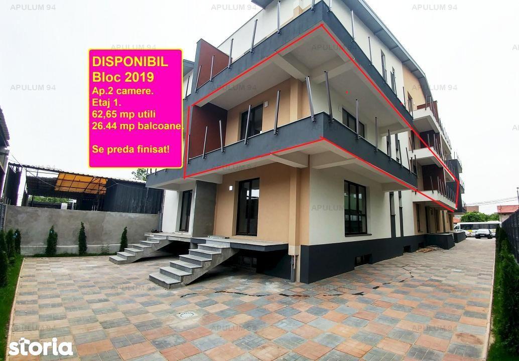 Apartament cu 2 camere | Spatios | Etaj 1 | Bucurestii Noi