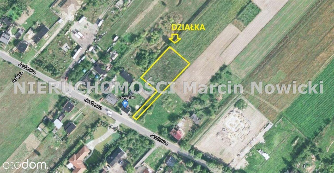 Działka, 1 739 m², Kutno