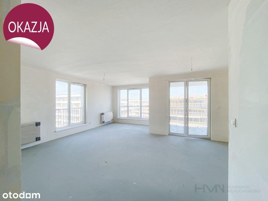 Tanie | Przestronne 3 pokoje | salon 30m2 | loggia