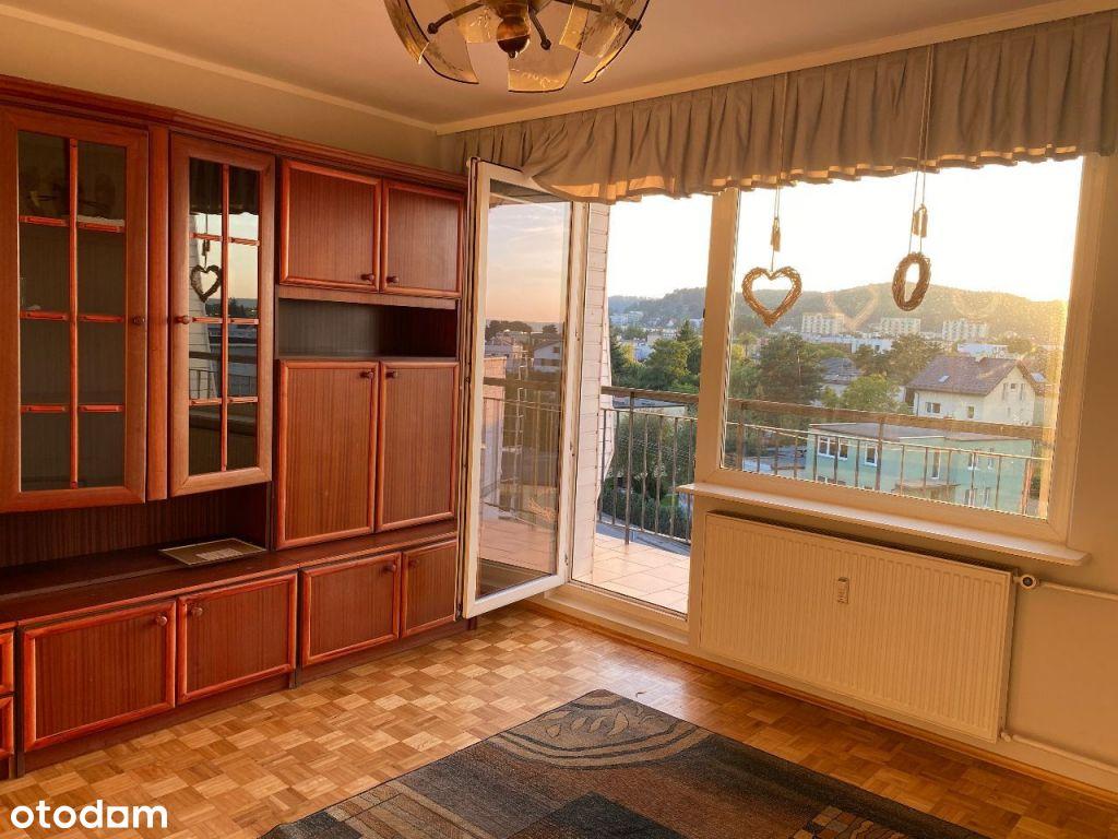 Słoneczne mieszkanie na wynajem 3 pokoje