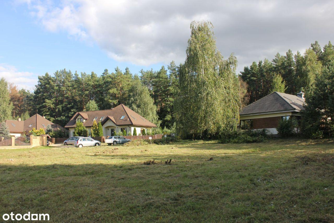 Piękna działka budowlana przy lesie w Krupnikach