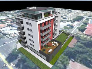 Apartament cu 2 camere, 54.3 mp utili, decomandat, etaj 2