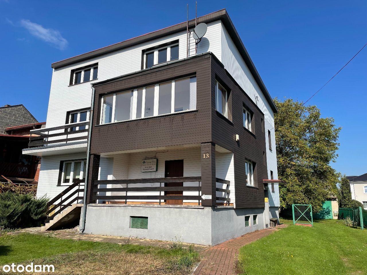 Dom dla 2 rodzin / firma + mieszkanie / 1 rodzinny