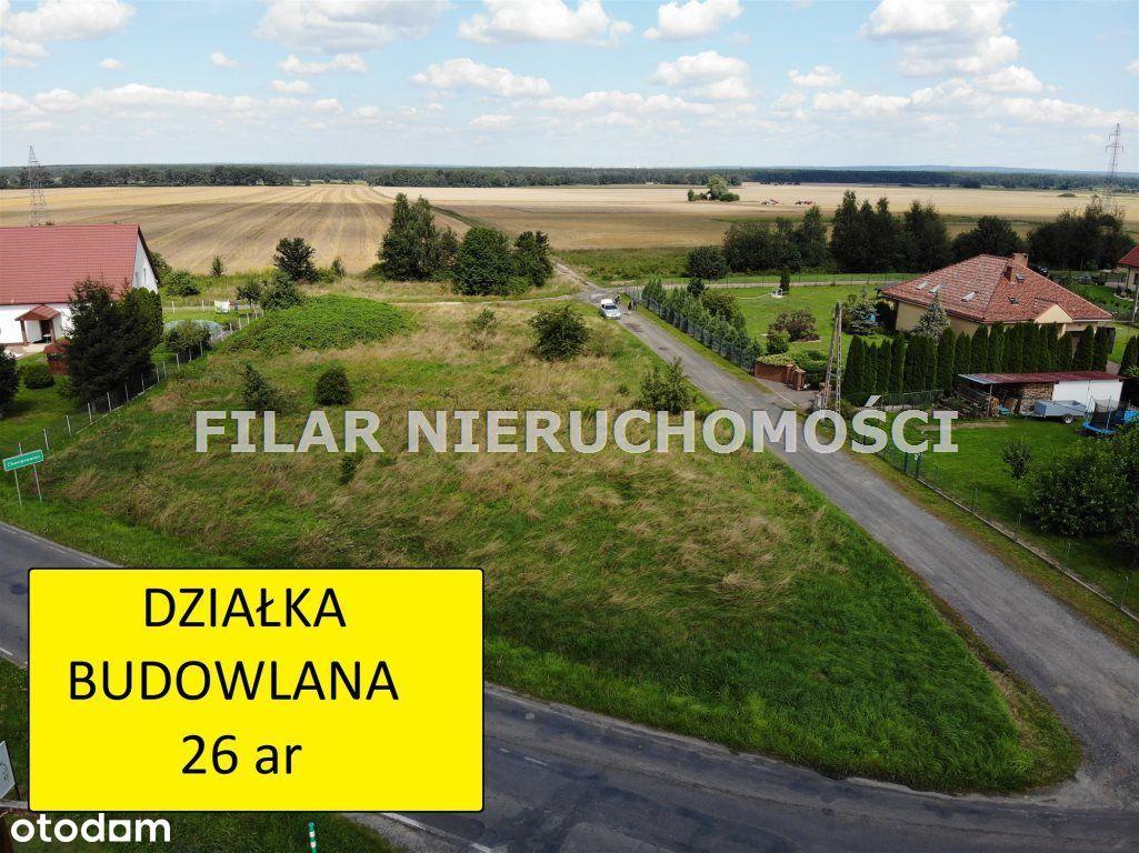 Działka, 2 600 m², Chocianowiec