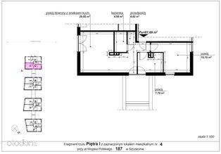 Mieszkanie 187/4 pow. 61,69 m2