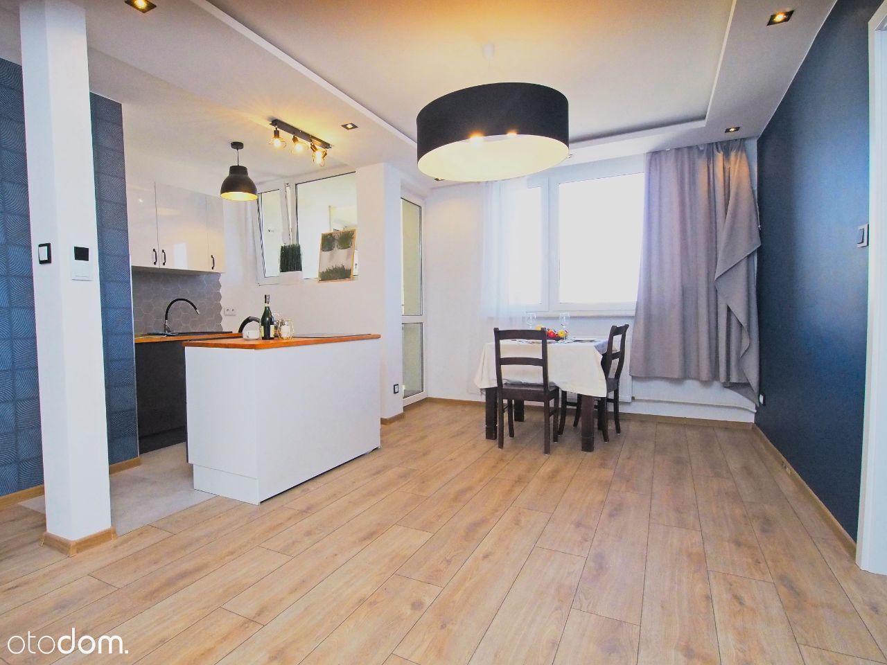 Dwupokojowe mieszkanie po generalnym remoncie