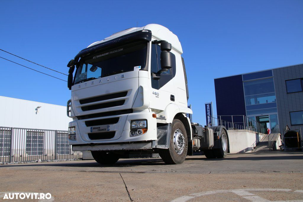 Iveco STRALIS 480+ Manual + Hydr. - 263.600 km ! - 1