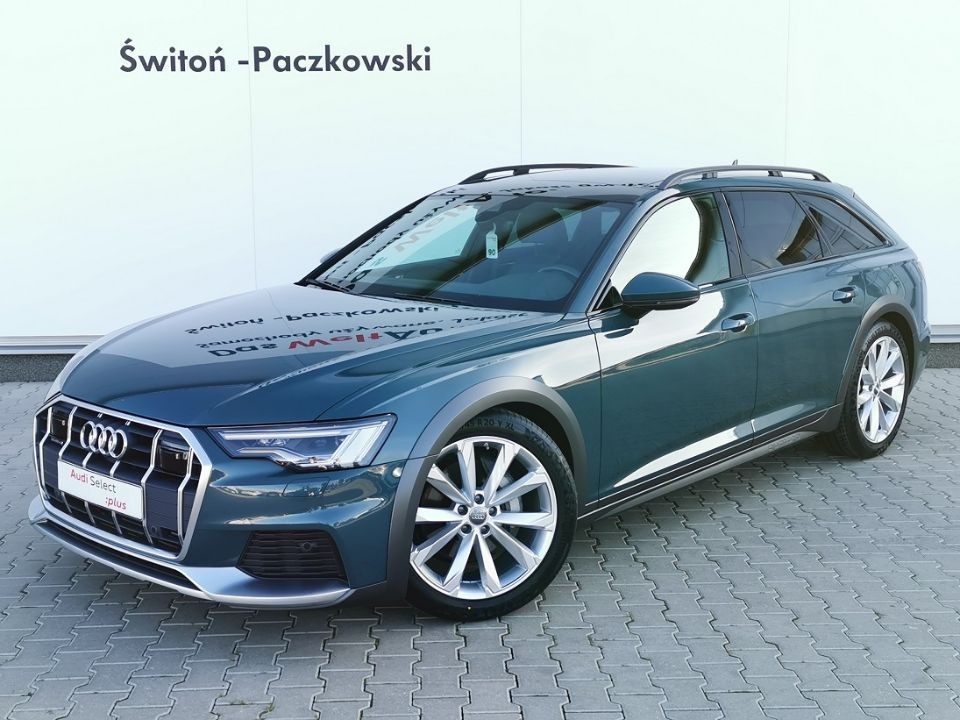 Allroad 50 TDI 286KM Tiptronic Head Up Panorama Salon Polska Gwarancja
