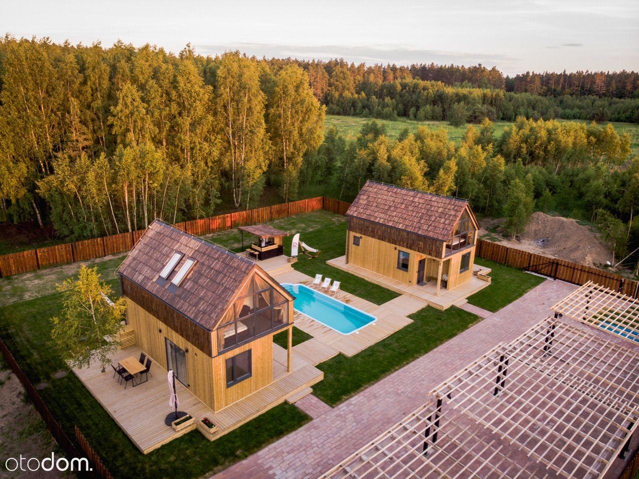 Nowoczesne domy z basenem, nad jeziorem OKAZJA!