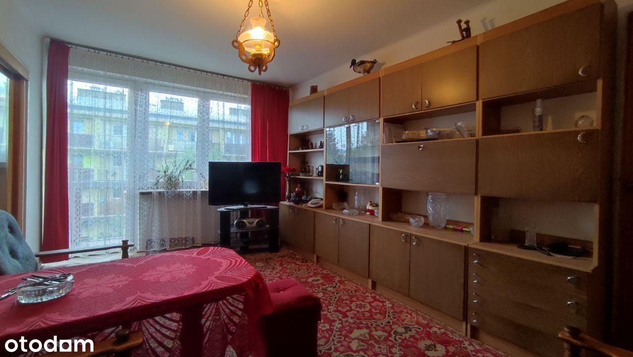 Mieszkanie trzy pokojowe 48 m², drugie piętro, jas