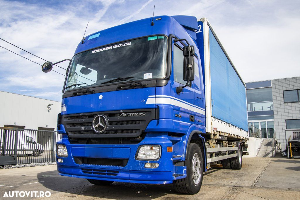 Mercedes-Benz ACTROS 1836 LS - MP2 - 3 PEDALS - 1