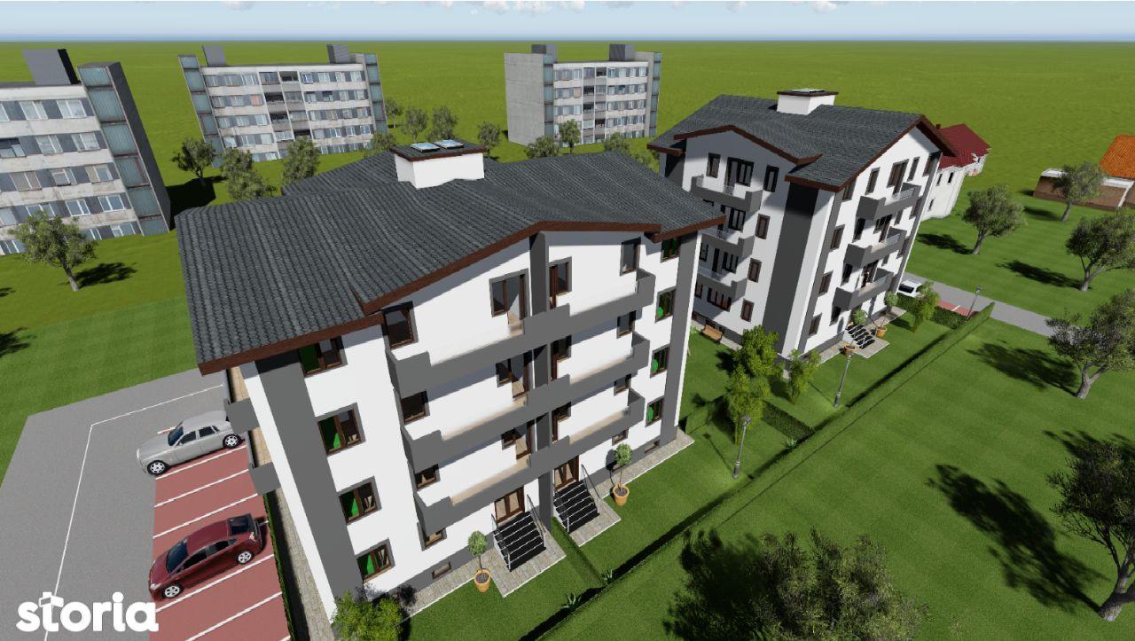 Apartament 3 camere 70mp+52mp Curte, AT Neculai-Pepiniera