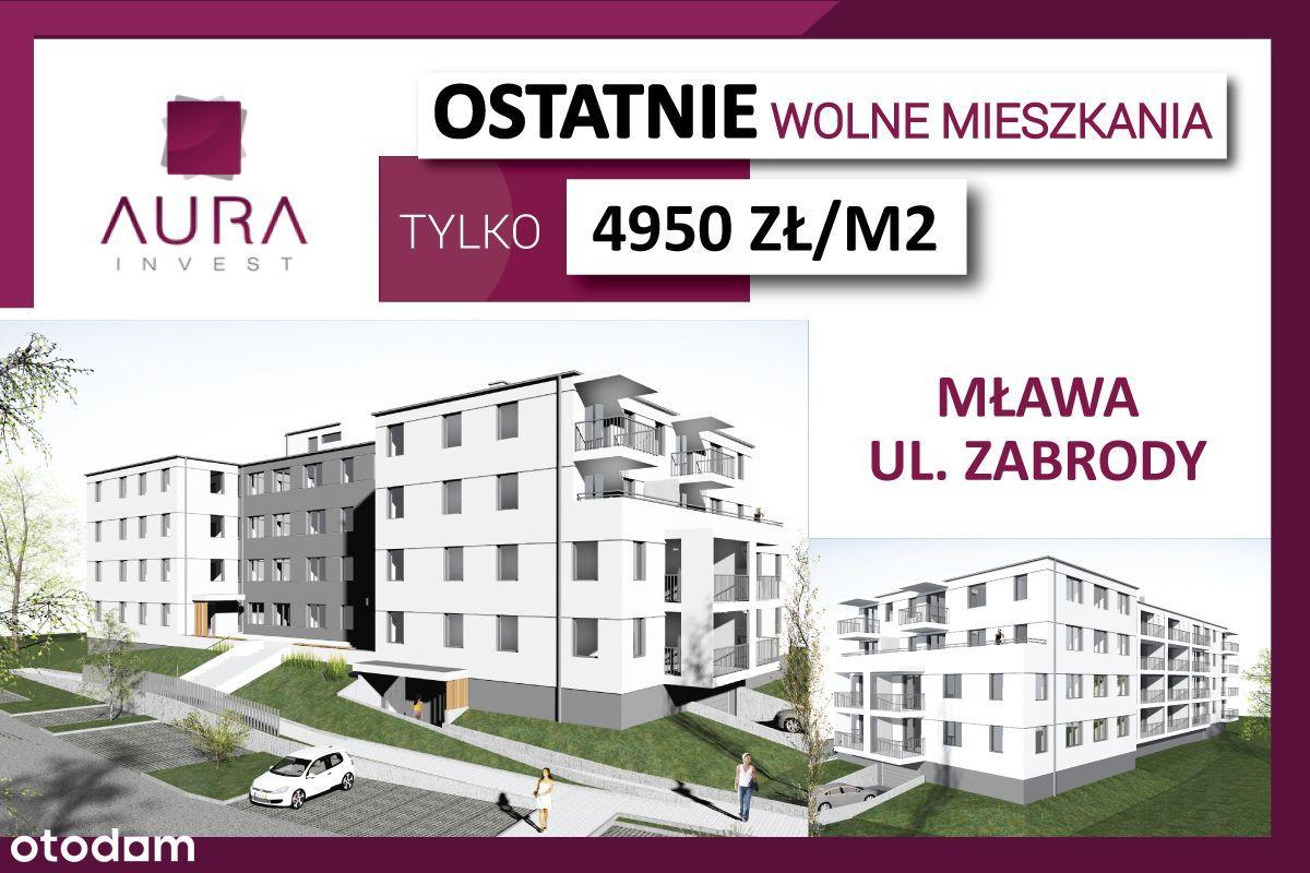 Nowe mieszkania przy ul. Zabrody, 4.950 zł/m2